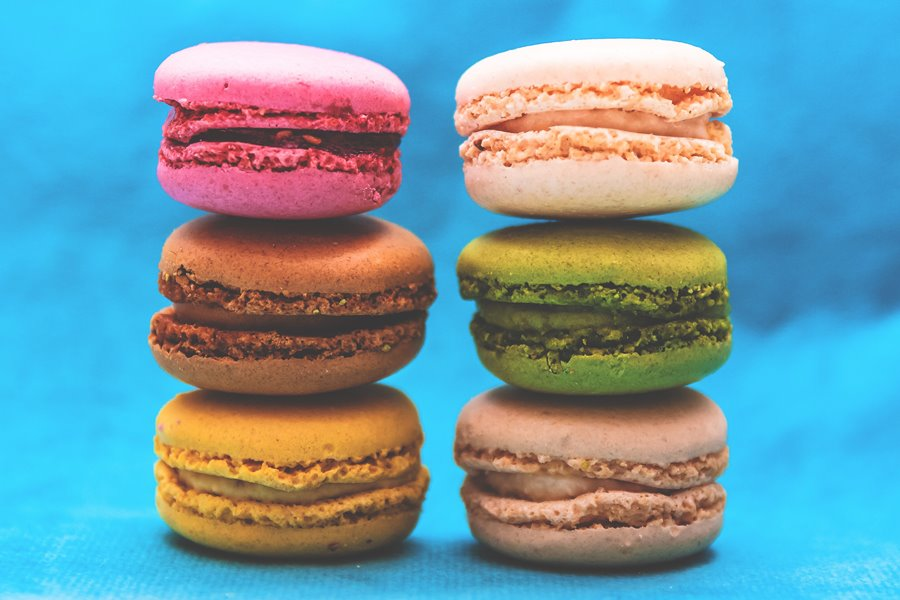 Macaroons for 6 step blog post