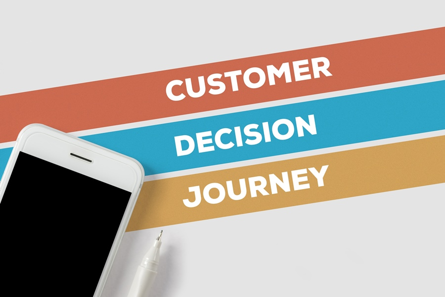 customer decision journey concept