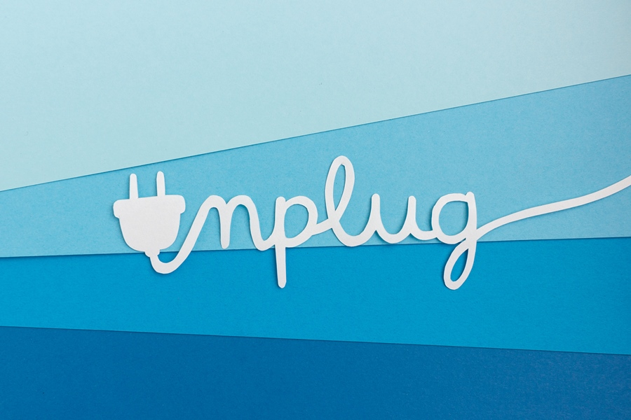 unplug graphic
