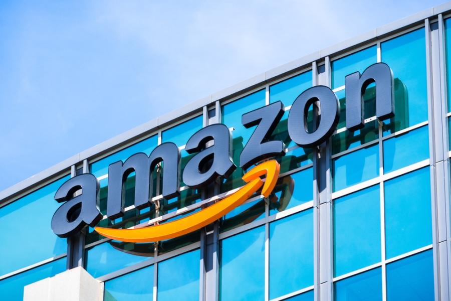 Amazon store facade